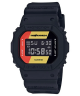 Casio G-Shock Digital Quartz Watch for Men with Resin Band, Water Resistant, DW-5600HDR-1DR, Black