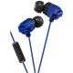 JVC Xtrem Xplosive Series In-Ear Earphones With Mic Blue