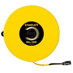 STANLEY STHT34263-8 CLOSED CASE FIBER GLASS MEASURING TAPE 50M/EX10MM METRIC-IMPERIAL
