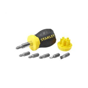 STANLEY 0-66-357 STUBBY SCREWDRIVER WITH MAGNETIC TIP