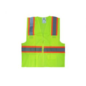 TUF-FIX SAFETY VEST , HEAVY DUTY ,120GSM - SWHD005