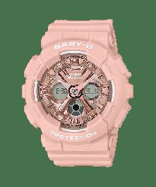 BABY-G BA-130-4ADR Analog-Digital Resin Women's Watch