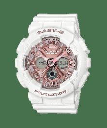 BABY-G BA-130-7A1DR Analog-Digital Resin Women's Watch