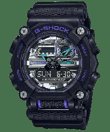 G-SHOCK GA-900AS-1ADR Analog-Digital Black Men's Watch
