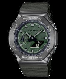 Casio G-Shock Metal Covered GM-2100B-3ADR Men's Green